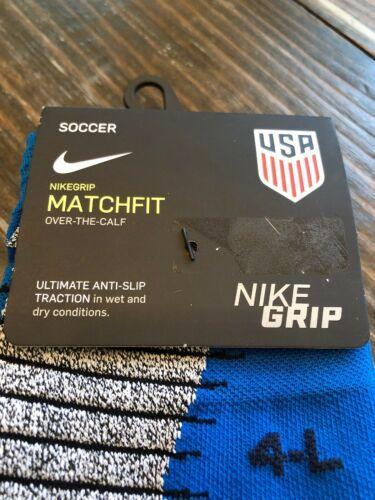 NIKE USA Stadium Cushioned Dri-Fit OTC Soccer Socks Men (10-11.5) WMNS (11.5-13)