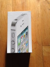 Apple IPhone 4S Empty Box  with Plastic Insert   Box Only - $8.90