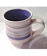 """PFALTZGRAFF HAND PAINTED """"RIO"""" BLUE & CREAM CUP - $1.99"""