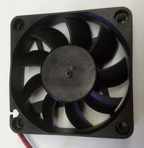 12V JXG or Equivalent DC Fan 60mm 2 3/8IN SQUARE W/ 2 pin connector image 2