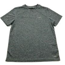 Champion Gray Dry Fit Shirt Size M Medium Adult Performance DuoDRY Gym T... - $17.83