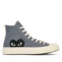 NIB*Converse X Comme de Garcons*Mens*Grey High  Top**5-12*Sneaker*Unisex - $225.00