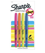 1 Pack Sharpie Highlighters Narrow Chisel Tip Smear Guard Assorted 5 Colors - $6.80