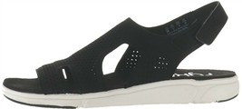Ryka Stretch Knit Sport Sandals Micha Black 10W NEW A348990 - £45.94 GBP
