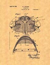 Shoulder Pad Patent Print - $7.95+