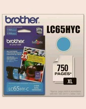 Brother LC65HYC Innobella High-Yield Ink, Cyan 012502620921 - $13.80