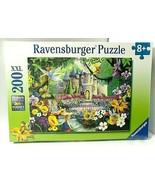 CASTLE FANTASY Puzzle Ravensburger 200 XXL Pcs Perfect Age Fit Floral Fa... - $37.57