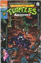 Teenage Mutant Ninja Turtles Adventures Comic Book #11 Archie 1990 FINE+ - $2.75
