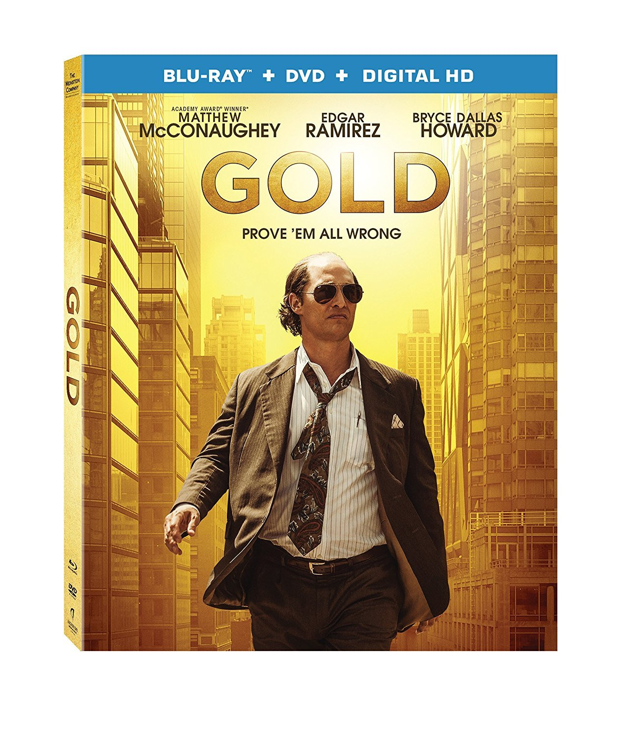 Gold (2017, Blu-ray+DVD)