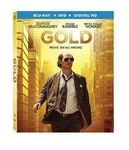 Gold (2017, Blu-ray+DVD)