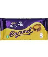 Cadbury Dairy Milk CARAMEL Bar chocolate bars Made in the UK- FREE SHIPPING - $9.65