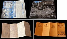 1939 New York World's Fair Map The Knott Hotels American Gas & Electric - $16.99