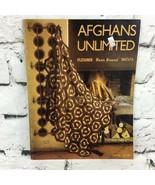 Vintage 1971 Afghans Unlimited Instructional Pattern Guide  - $14.84