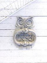 Metal Owl Door Knocker, Front Door Decor  - $21.00