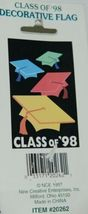 New Creative 20262 Class of 98 Graduation Decorative Flag image 3