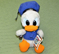 Vintage Applause Baby Donald Duck Happy Birthday Stuffed Animal With Tags Korea - $24.75
