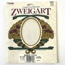 "Zweigart Quaker Cloth 28 Count Cross Stitch Fabric 14"" x 18"" White Linen Cotton - $6.44"