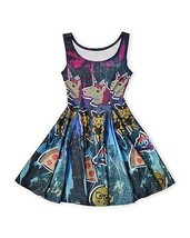 NWT $90 KIDS GIRLS ZARA TEREZ Skater Dress All Over Emoji Print sz M - $48.51