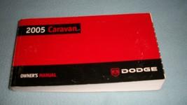 2005 Dodge Caravan Owners Manual with binder OEM - $12.00