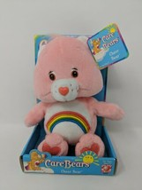 "8"" Pink Cheer Bear Care Bear 2002 Plush New In Box Old Stock VTG Rare Ra... - $19.79"