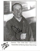 "Jackie ""The Joke Man"" Martling Signed Autographed Glossy 8x10 Photo - COA Matchi - $29.69"