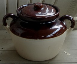 Nice Vintage McCoy Pottery Crock, #342, VERY GOOD CONDITION - $29.69