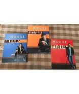 House M D Season 1 2 3 DVDs Hugh Laurie 1 Only Sealed New Complete Box Sets - $23.75