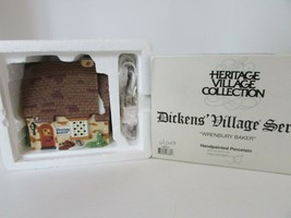 DEPT 56 58331 WRENBURY BAKER BUILDING HERITAGE VILLAGE WITH CORD D12 - $19.55