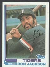 Detroit Tigers Ron Jackson 1982 Topps Baseball Card 488 nr mt - $0.45