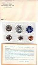 1965 1C-50C Special Mint Set SMS Us Mint Silver 40% Kennedy Half Dollar ... - $15.79