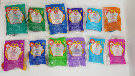 McDonald's Ty Beanie Babies 1999 Full Set of 12 Unopened Still In Packag... - $27.73