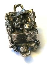 ORE CAR FIGURINE CAST WITH FINE PEWTER - Approx. 1 inches tall   (T165) image 5
