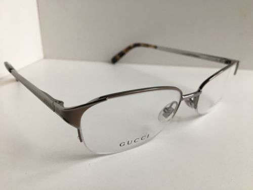 d59440ca6f2 New GUCCI Beige Semi-Rimless 52mm Rx Women s and 50 similar items