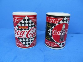 Coca Cola 1995 Salt And Pepper Shakers By Enesco  Very Good Condition - $9.79