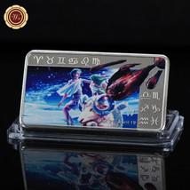 WR Zodiac Horoscope Aries 999 Silver Clad Bullion Collector Bar Gifts Fo... - $4.90