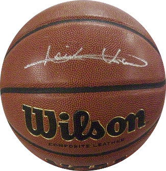 Isiah Thomas signed NCAA Wilson Indoor/Outdoor Basketball (Indiana Hoosiers)