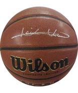 Isiah Thomas signed NCAA Wilson Indoor/Outdoor Basketball (Indiana Hoosi... - $116.95