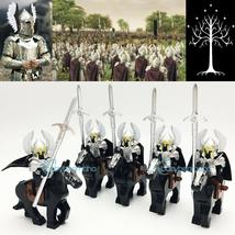 10pcs The Lord Of The Rings Gondor Fountain Guard Cavalry Army Minifigures Toys - $28.99
