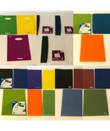 Two Pocket Folder Assorted Colors Poly Plastic Folders Trapper Choice of... - $11.99+