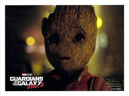 Guardians Galaxy Vol. 2 Groot Marvel Lithograph Disney Movie Club Exclus... - $11.45