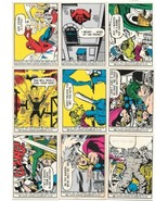 Marvel Comic Art Trading Cards Base Cards 1966 Donruss You Choose - $7.84+