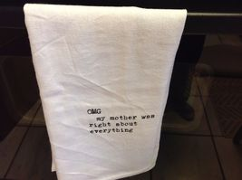 The Best Message Kitchen Gift Towel  Made in USA by Hand image 13