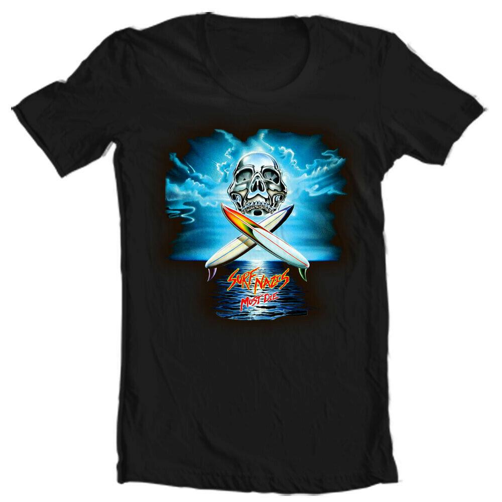 Surf Nazis Must Die T Shirt classic Troma movie retro gore horror graphic tee