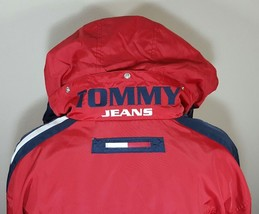 VTG Tommy Hilfiger Jacket Flag Windbreaker Colorblock 90's Spell Out XL ... - $116.99