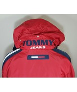 VTG Tommy Hilfiger Jacket Flag Windbreaker Colorblock 90's Spell Out XL ... - $116.99