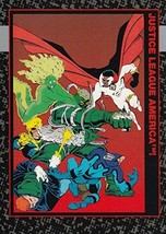 "Doomsday Death of Superman 1992 Skybox ""JUSTICE LEAGUE AMERICA!"" #14 M/N... - $1.46"