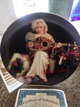 3 Marilyn Monroe Collector Bradford Exchange Marilyn By Milton H Greene Plates - $42.52
