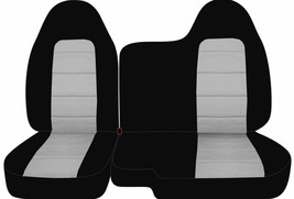 Front set car seat covers fits  CHEVY COLORADO 2004-2012  60/40 Bench - $89.99
