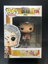 Carol Peletier Bloody/Blood Splatter 156 The Walking Dead Funko Pop Viny... - $38.14