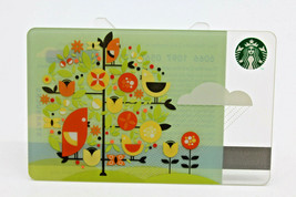 Starbucks Coffee 2010 Gift Card April Showers  Birds Tree Zero Balance N... - $15.03